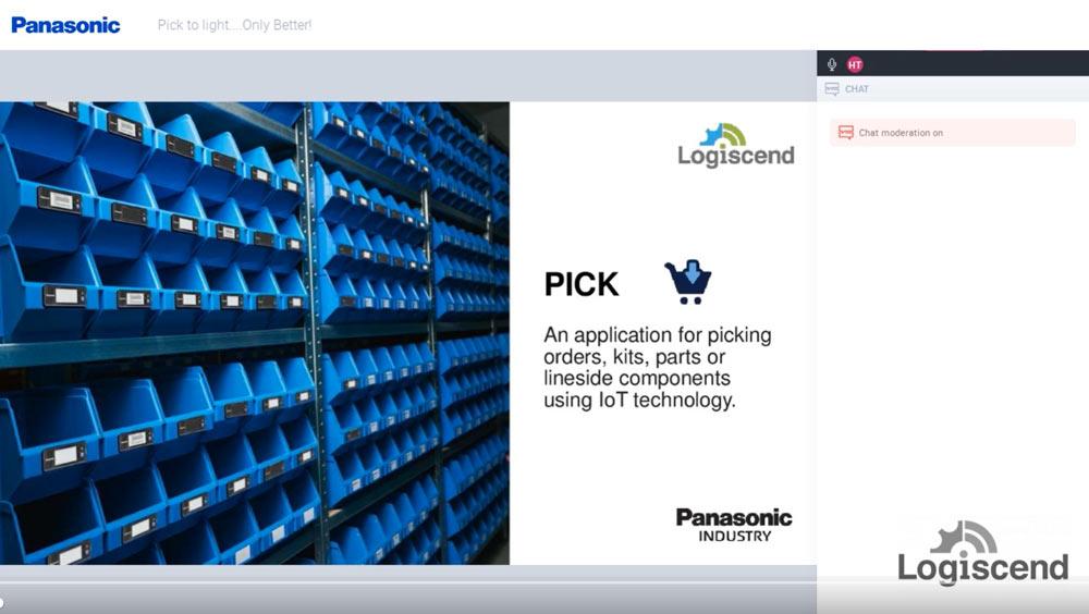 Panasonic Pick to Light Only Better Webinar